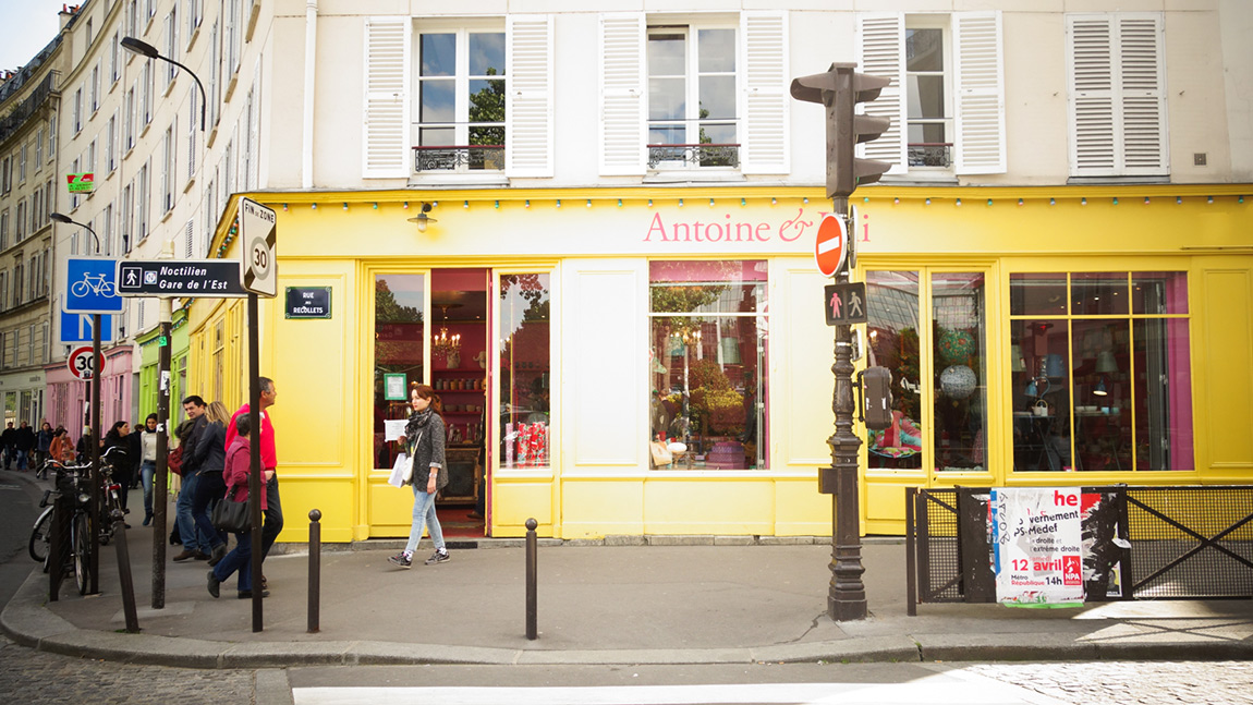 Antoine et Iili, magasin décoration Canal Saint Martin 10° arrondissement de Paris