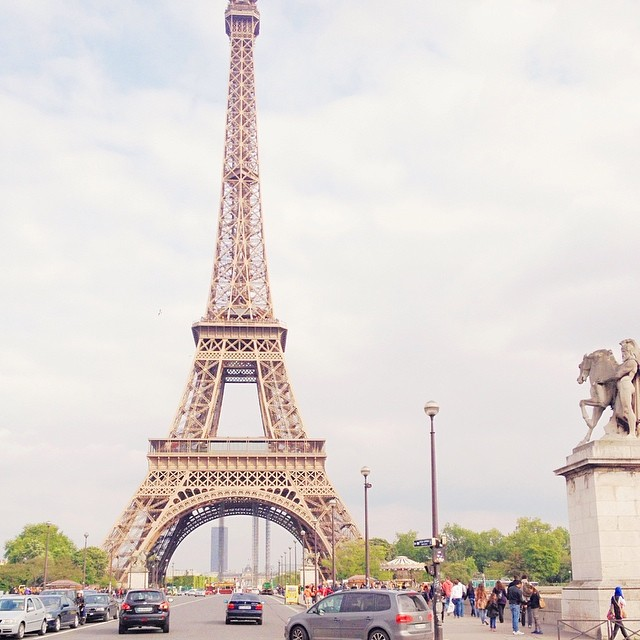 La tour Eiffel - Photo Instagram Dollyjessy