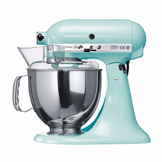 Kitchen Aid bleu glacier mint blog cuisine lifestyle dollyjessy