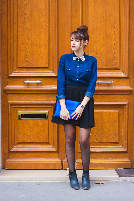 Look Bleu Blog Mode French Fashion Blogdollyjessy