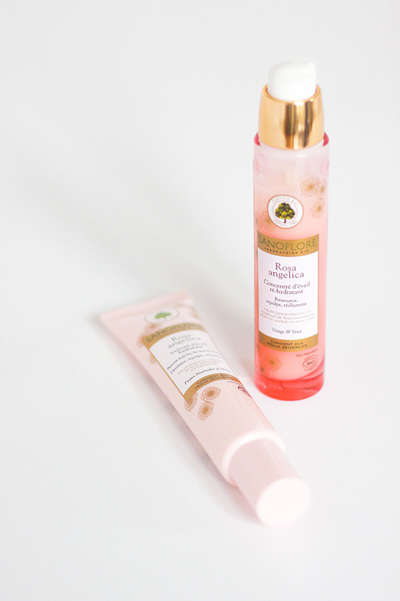 Gamme Rose Angelica Sanoflore - blog lifestyle mode et beauté dollyjessy
