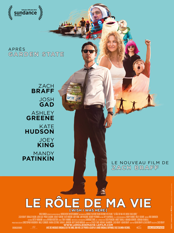 Le rôle de ma vie Zach Braff - Blog lifestyle cinema