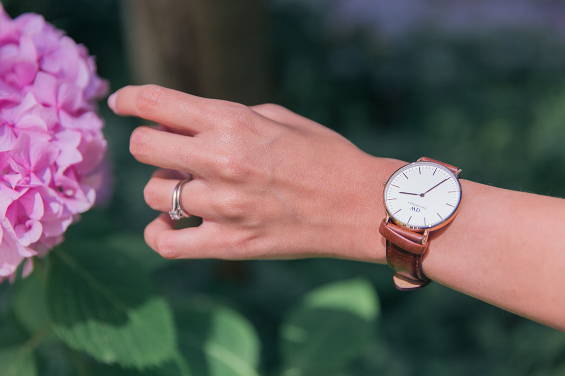 Montre Daniel Wellington, blog mode français