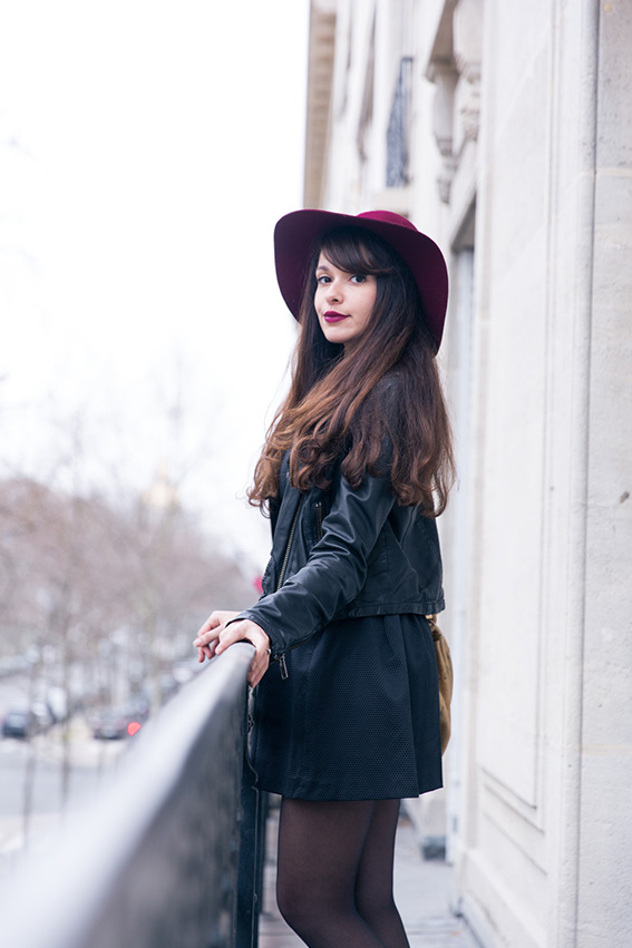 Blogueuse mode parisienne Dollyjessy - shooting paris