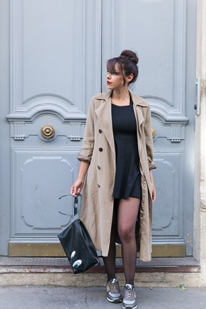 Look blog mode paris 1P10 style baskets Gémo défi tenue automne 2016