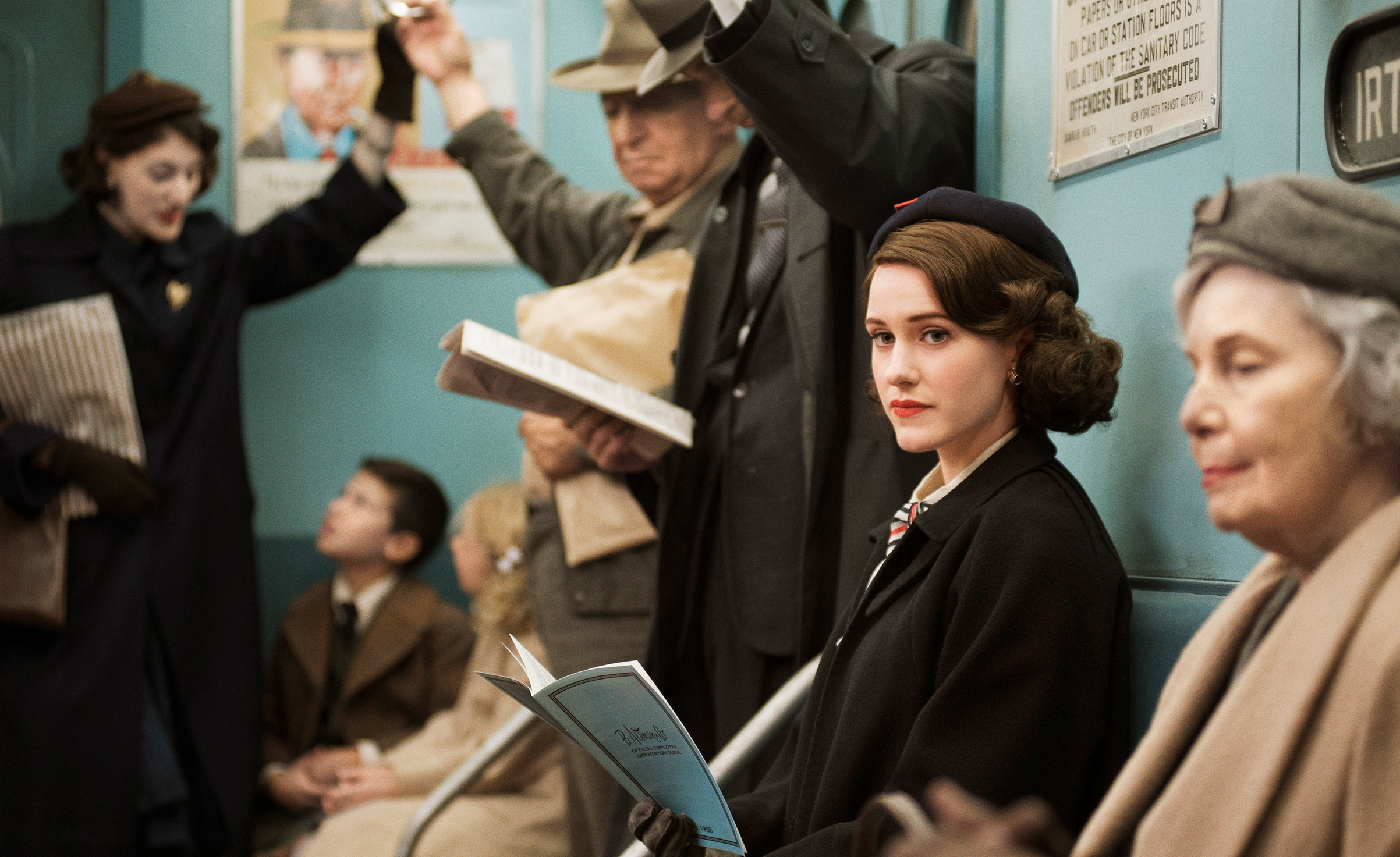 Série féministe série de fille coups de coeur sélection Amazon prime video - The Marvelous Mrs Maisel La fabuleuse Madame Maisel héroïne série à voir regarder en 2019 blog dollyjessy cinéma paris