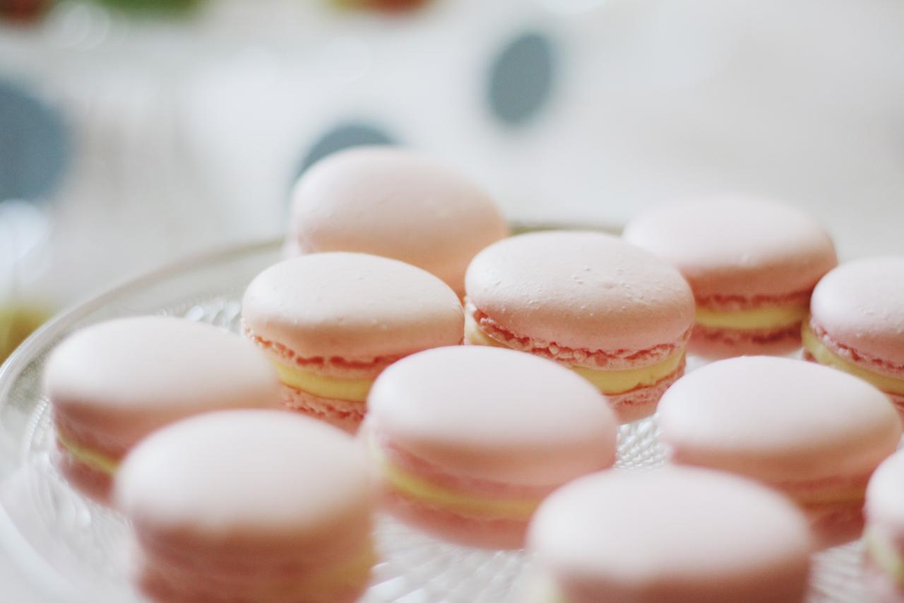 Macarons Citron Dollyjessy blog cuisine