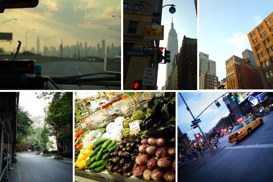 Parcours en taxi et arrivée à Greenwich Village