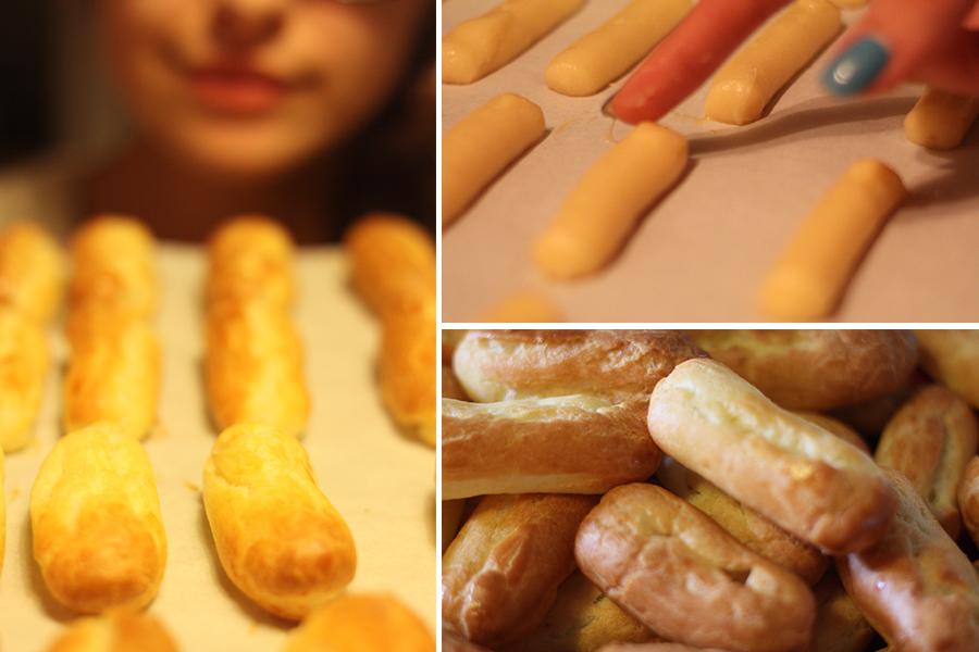 Mini éclairs au chocolat, recette blog culinaire de Dollyjessy