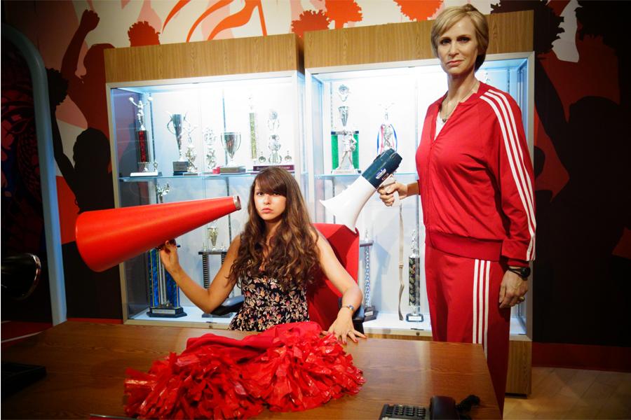 Sue et moi, dans Glee