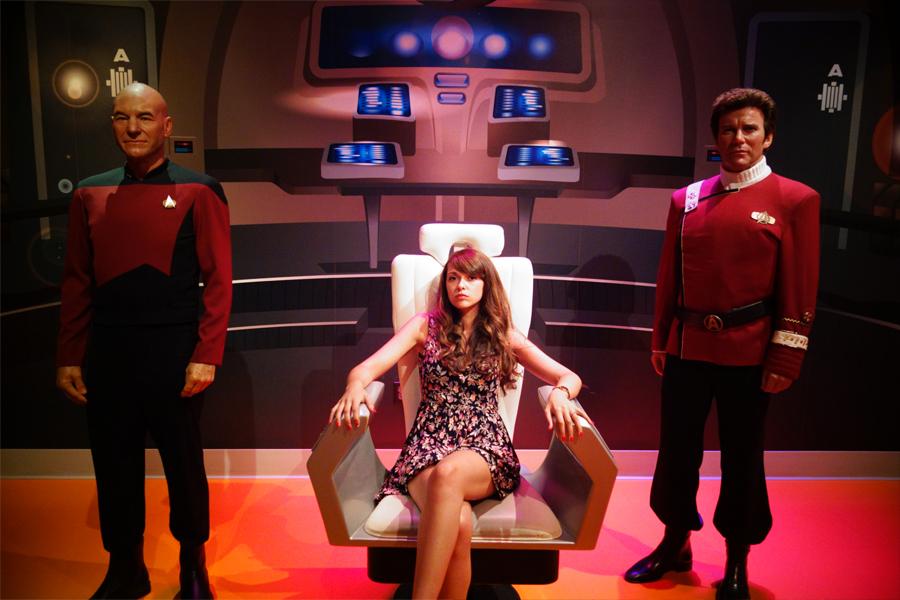 Dans notre quête de nouvelles civilisations, la fédération des planètes unies souhaite que nous poursuivions notre voyage temporel !