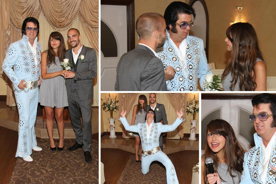 Mariage à Las Vegas, Graceland Chapel avec Elvis