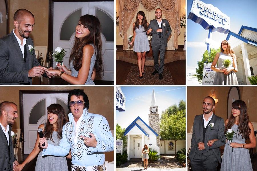 Mariage dans une chapelle à Las Vegas, par Elvis. Graceland Chapel