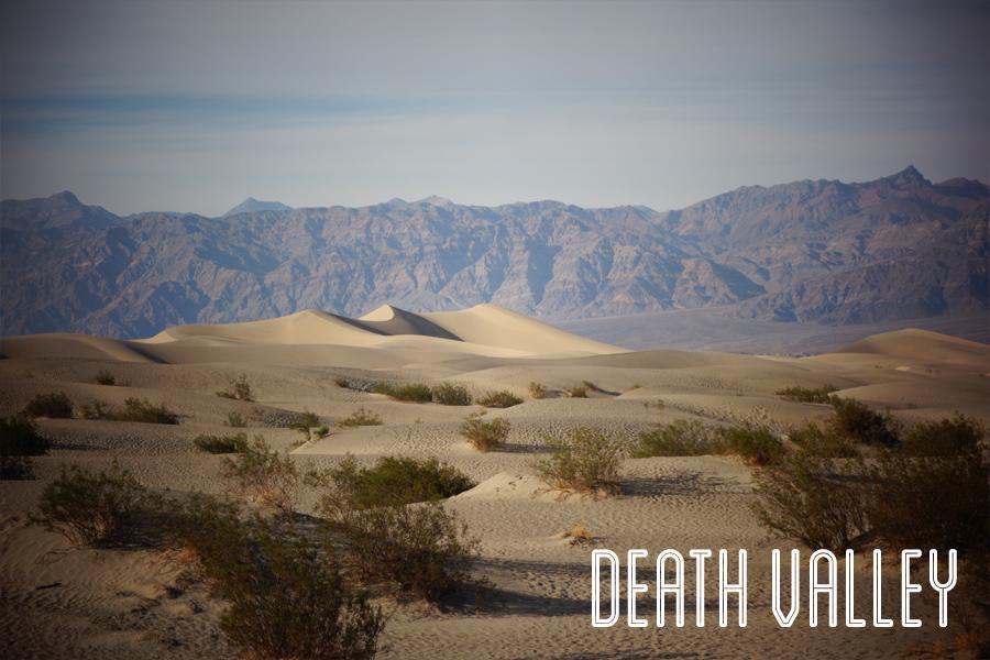 Trip USA, Las Vegas à la Death Valley, marcher sur les rochers ou sur le sable