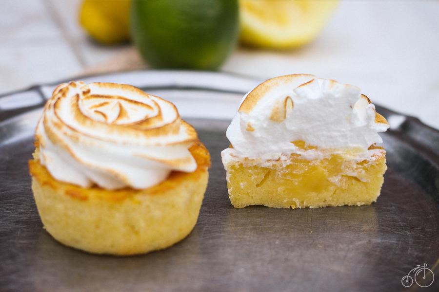 Cupcakes citron meringués, lemon curd citron vert et meringue italienne