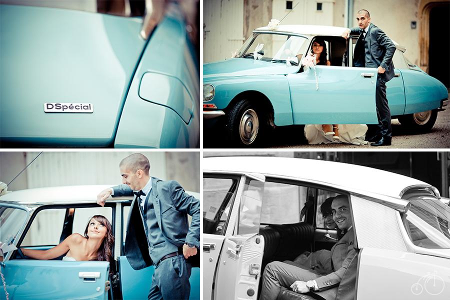 Dollyjessy mariage, conseils voiture de collection vintage: citroën DS
