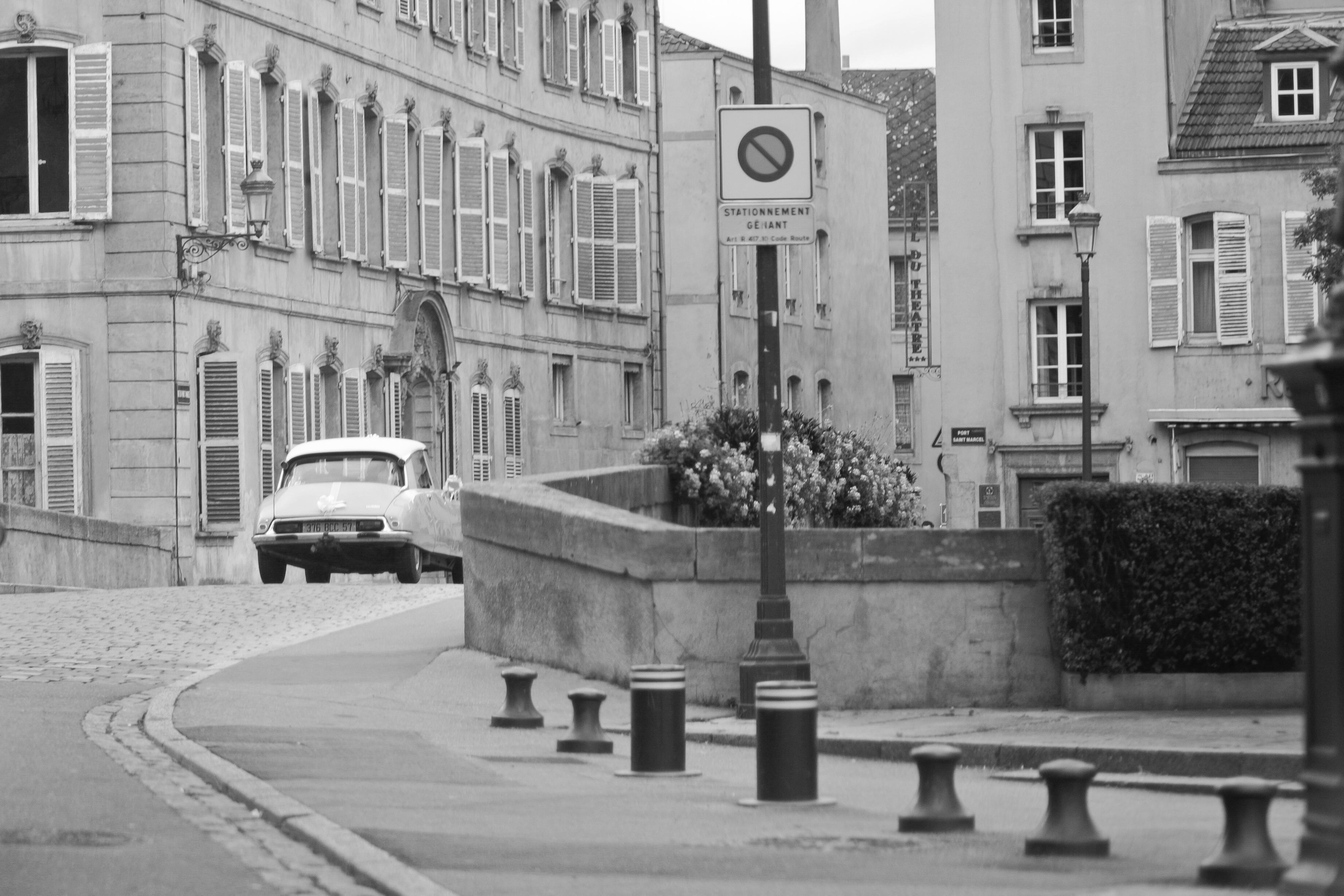 Les jolies rues pavées de la ville de Metz !