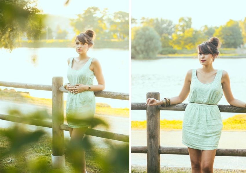 Look / tenue mint spirit, Dollyjessy