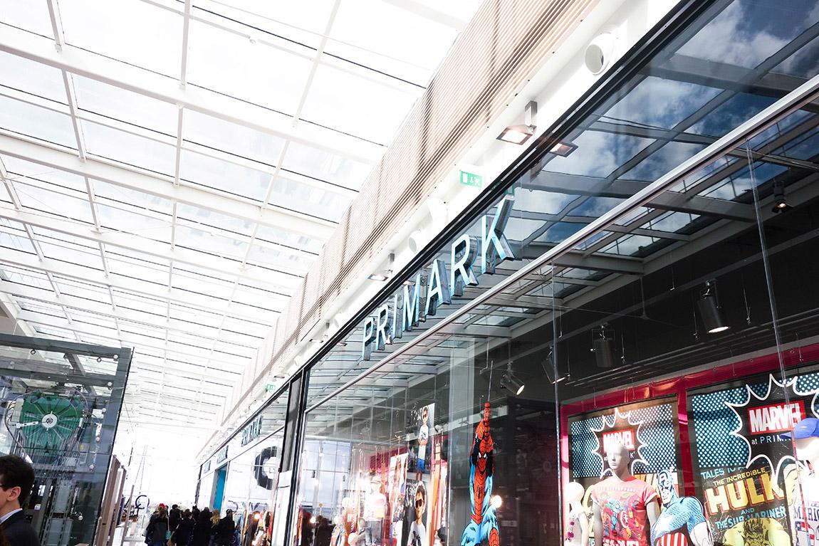 Centre commercial connecté Qwartz Villeneuve région parisienne : Primark