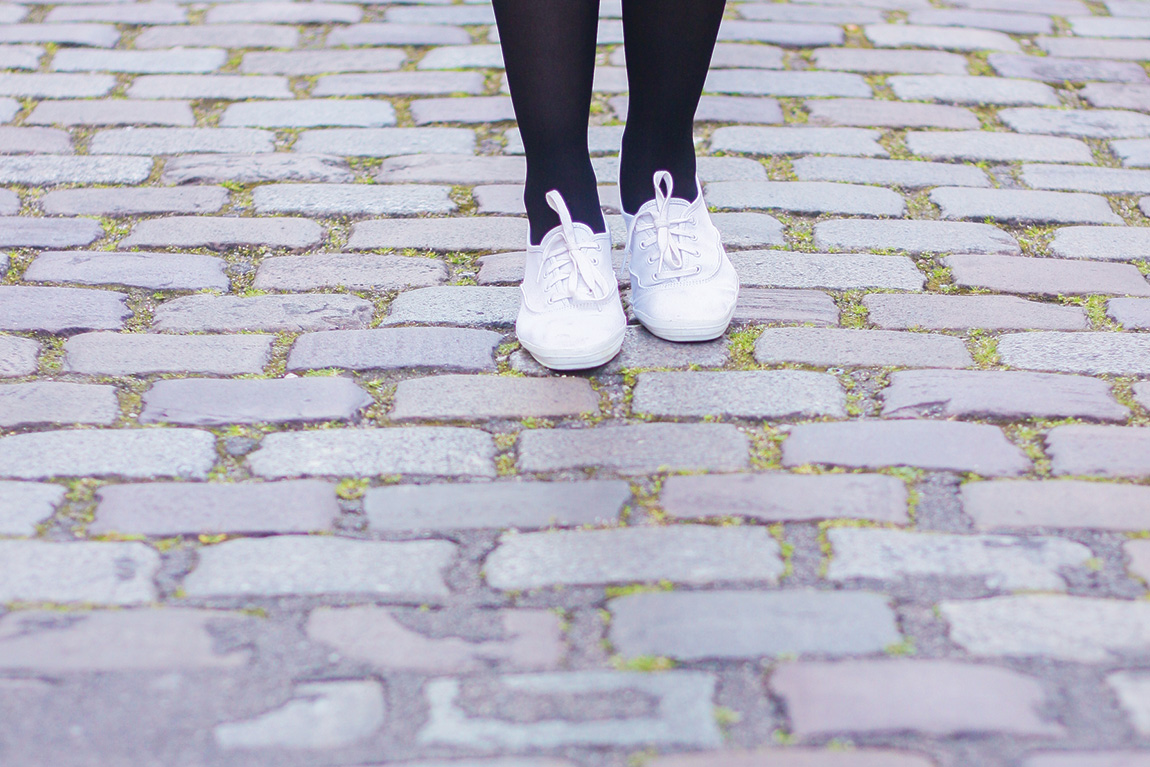 Tennis blanches Keds - Blog mode Dollyjessy