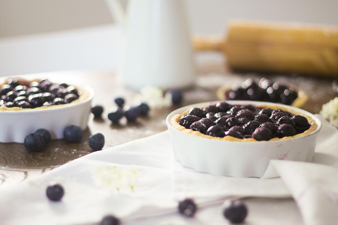 Recette de la tarte aux myrtilles par Dollyjessy - Blueberry Pie