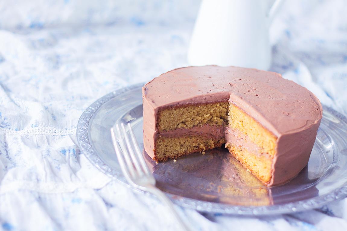Gateau Praline Avec Ganache Montee Au Chocolat Praline Cake Praline