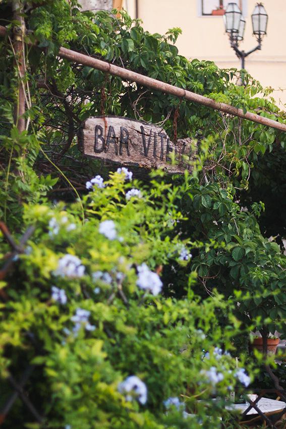 Bar Vitelli, Savoca en Sicile, bar où une scène du Parrain a été tournée