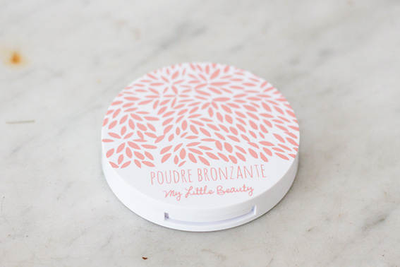 Poudre bronzante soleil My Little Beauty Box