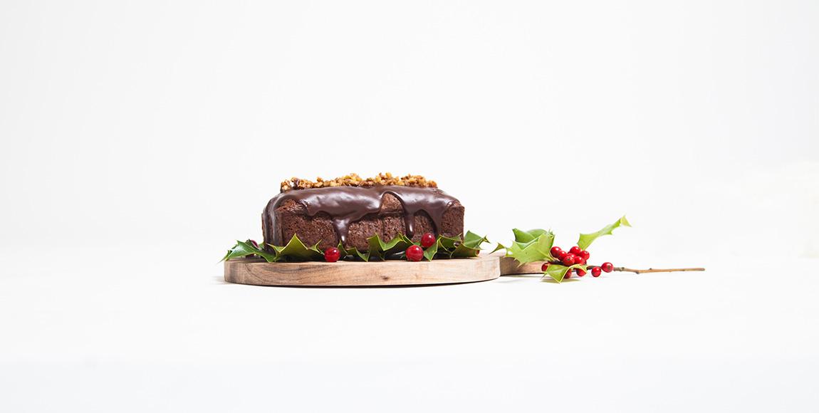 Cake Au Chocolat Et Noix De Pecan Facon Brownie Dollyjessydollyjessy