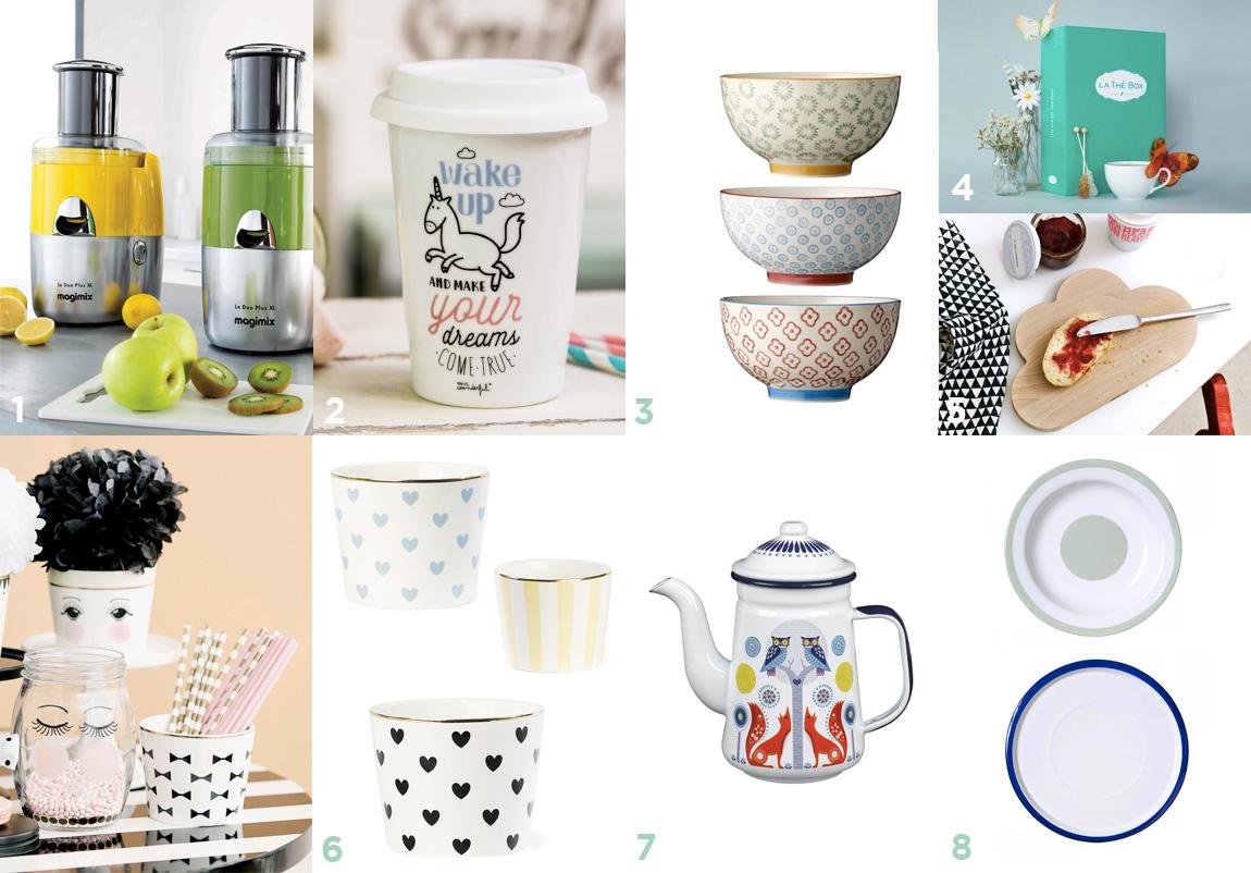 Idées cadeaux cuisine et vaisselle pour Noël  - wishlist Noëk 2014 par Dollyjessy, blog lifestyle, mode, déco, cuisine