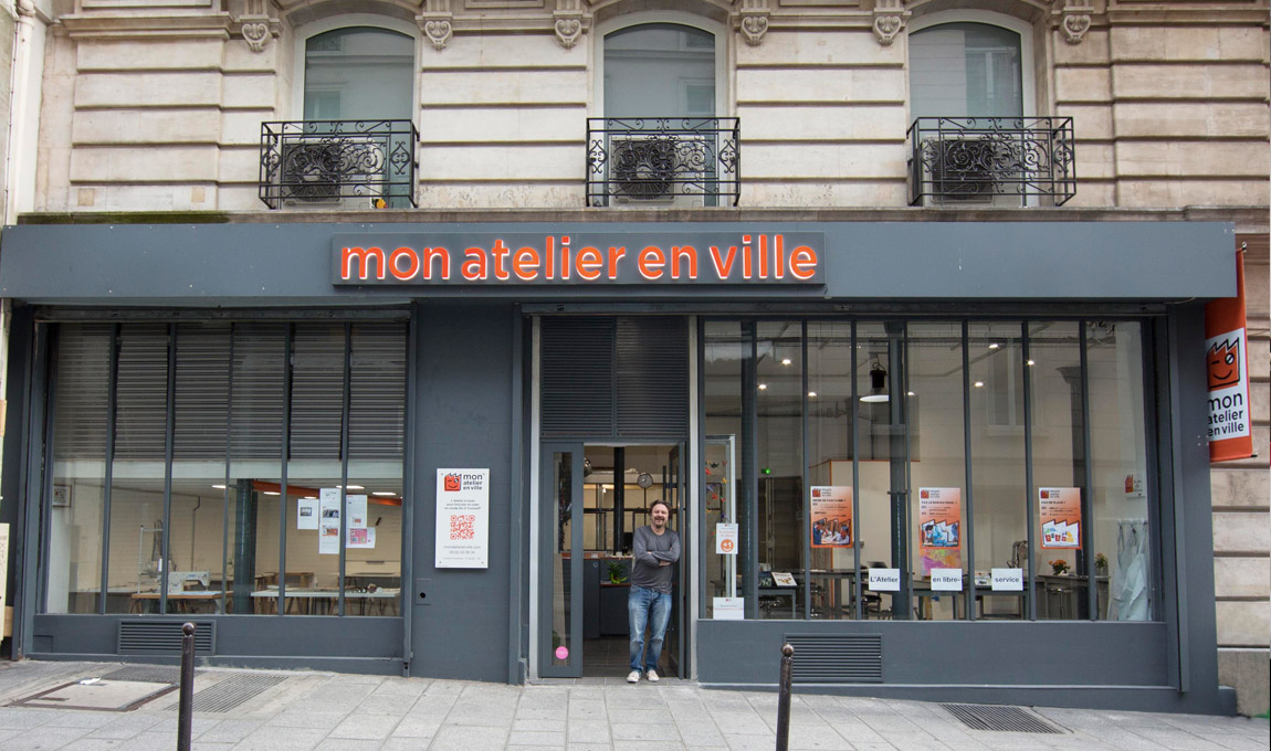 Mon atelier en ville, atelier au coeur de Paris pour apprendre la menuiserie et autres loisirs créatifs, et disposer d'espaces avec un matériel professionnel