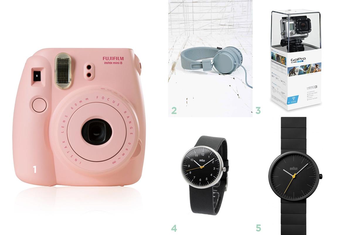 Idées cadeaux geek et technologie pour Noël  - wishlist Noëk 2014 par Dollyjessy, blog lifestyle, mode, déco, cuisine