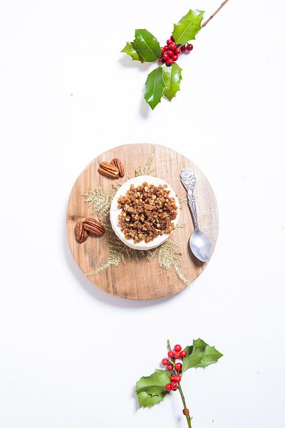 Recette cheesecake sans cuisson à la crème de marron et aux noix de pécan caramélisées au sirop d'erable. Mascarpone et crème chantilly. Blog cuisine gastrononomie food lifestyle dollyjessy