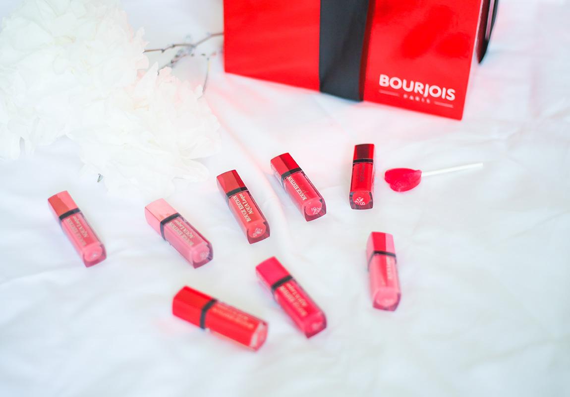 Rouges édition Aqua Laque Bourjois, avis nouveauté 2015 maquillage beauté - blog mode lifestyle beauté, french blog