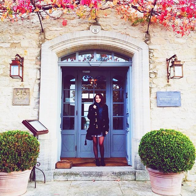 Photo Instagram Relais château hôtel Crillon le Brave en provence dans le sud de la france. Week-end luxe et détente. Blog lifestyle voyage mode Dollyjessy