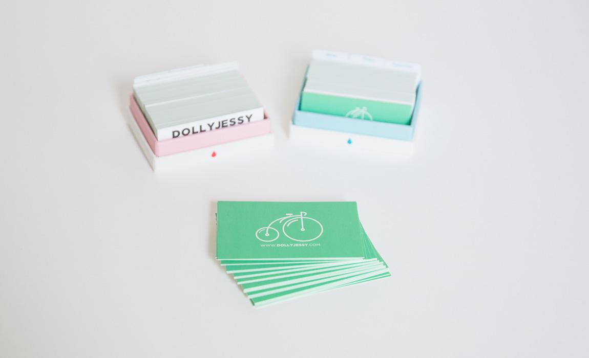 Cartes de visite imprimées chez Moo, blog mode lifestyle français - french blogueur