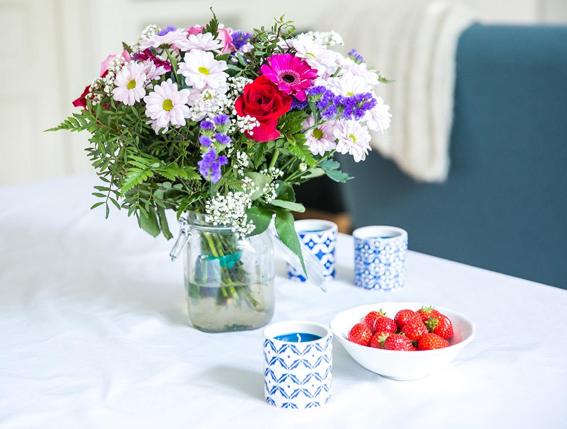 Bouquet de fleurs livraison de fleurs Floraqueen - Blog lifestyle dollyjessy