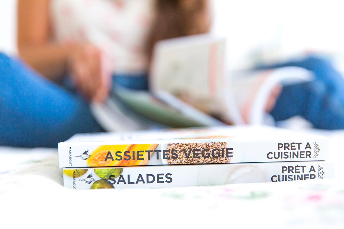 Livres cuisine été 2015 Marabout : salades gourmandes, recettes veggie
