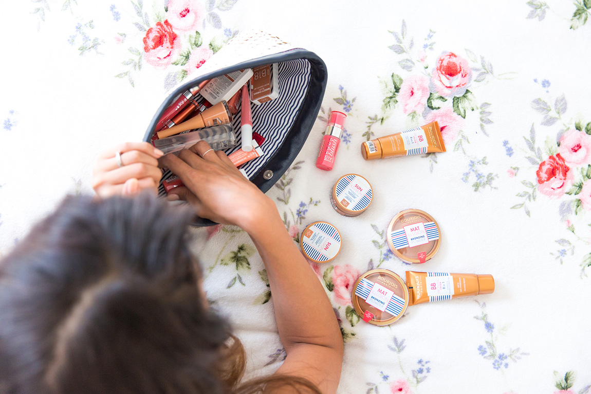 Collection été 2015 Une beauté et Bourjois : poudres soleil, bb crème, blush, baumes à lèvres