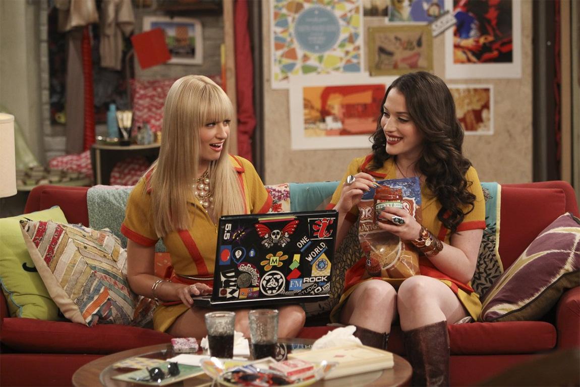 2 broke Girls Les meilleures séries comiques - classement séries TV drôles