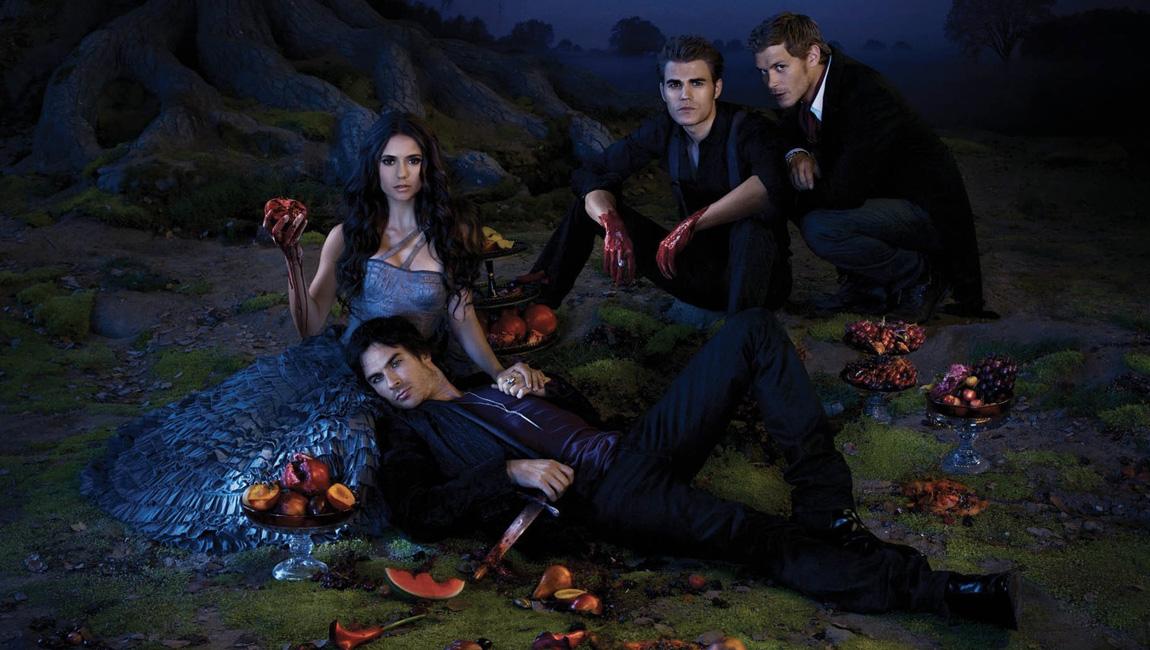 Séries de fille à regarder en 2015 - classement blog  The vampire diaries