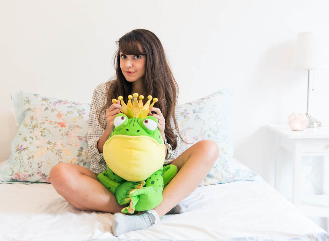 Fred The Frog Triumph lingerie - blog mode blog lifestyle