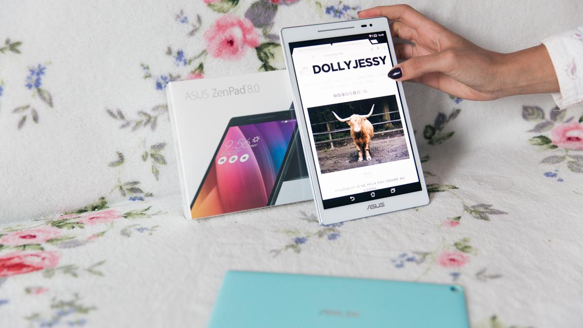 Nouvelle tablette Asus ZenPad - tablette tactile idée cadeau 2015 - blog lifestyle mode