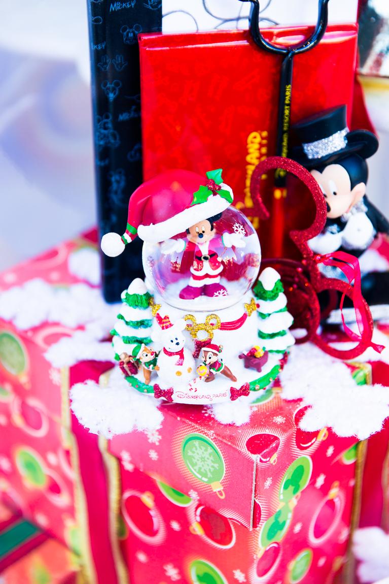 Décorations Noël Disneyland Paris