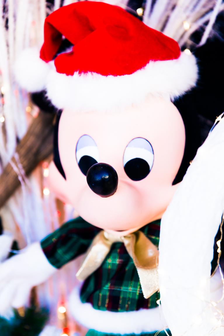 Noël à Disney Land Paris Mickey décorations de Noël  blog paris lifestyle