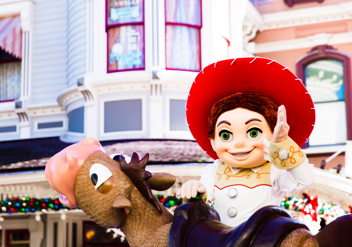 Noël à Disneyland Paris - Jessie de Toy Story - blog lifestyle - blogueuse parisienne