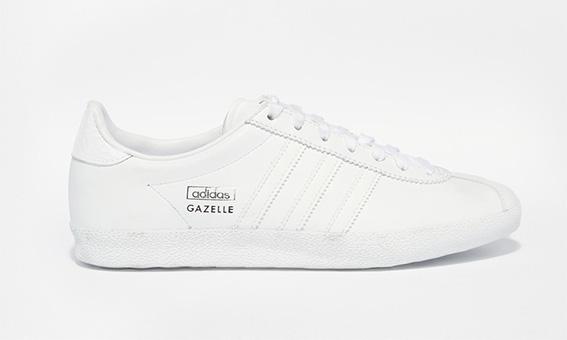 Adidas Gazelles Blanches minimalistes trop belles