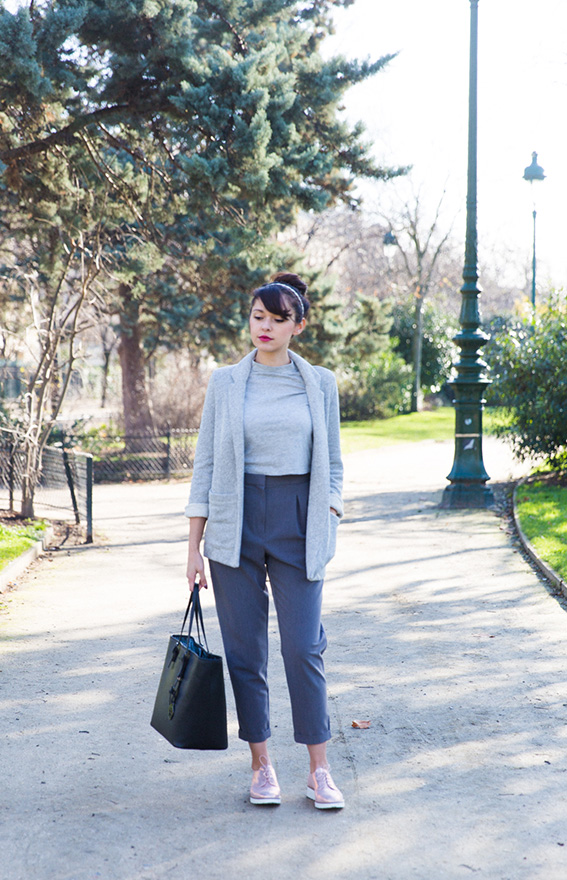 Blogueuse mode Paris - look 2016 printemps idée de tenue pour s'habiller au printemps - Photos Paris Champs de Mars