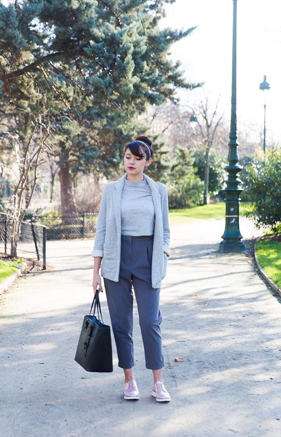 Blogueuse mode Paris - look 2016 printemps idée de tenue pour s'habiller au printemps - Photos Paris Champs de Mars