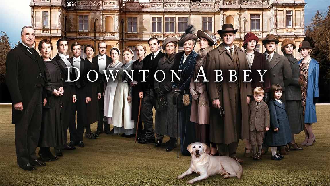 Série de fille à regarder liste blog : Dowtown Abbey - meilleurs séries de filles